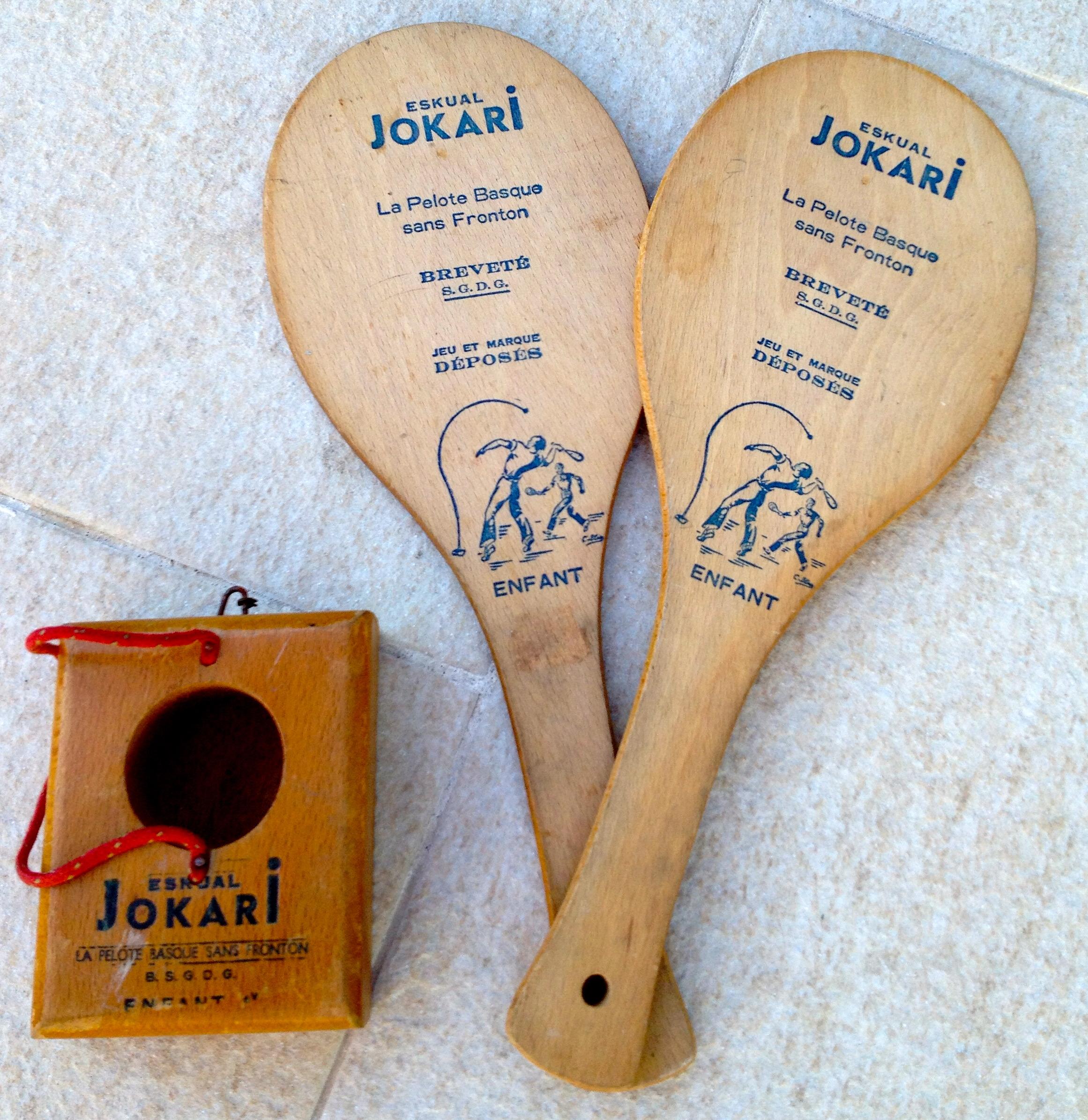 Jeu de raquette Jokari