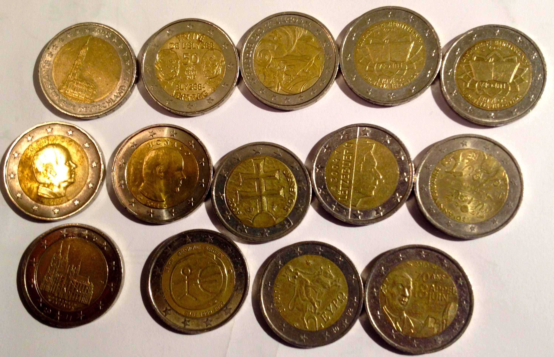 Collection de pièces 2 euros