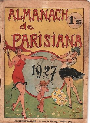 Almanach de Parisiana
