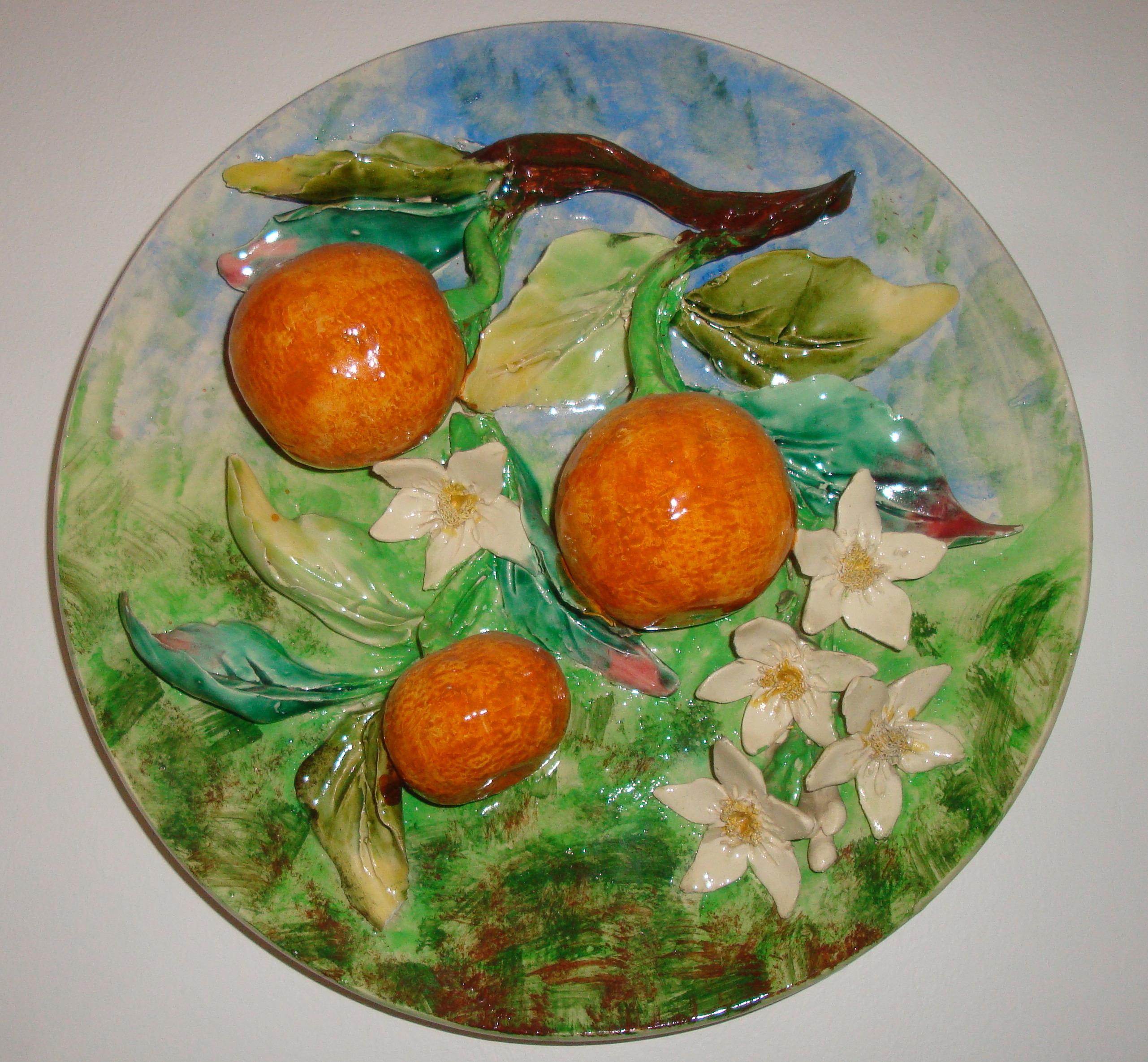 Plateau porcelaine Menton