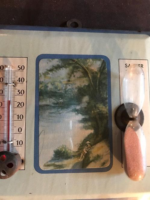 Glaçoïde, sablier, thermomètre