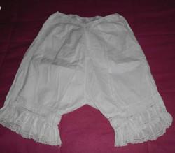 Culotte longue brodé