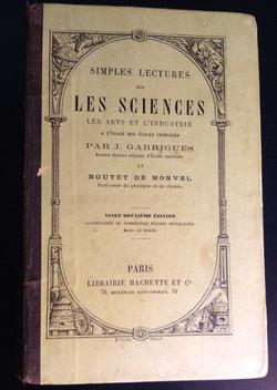 Livre sciences