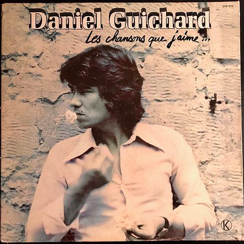 Disque vynile Daniel Guichard