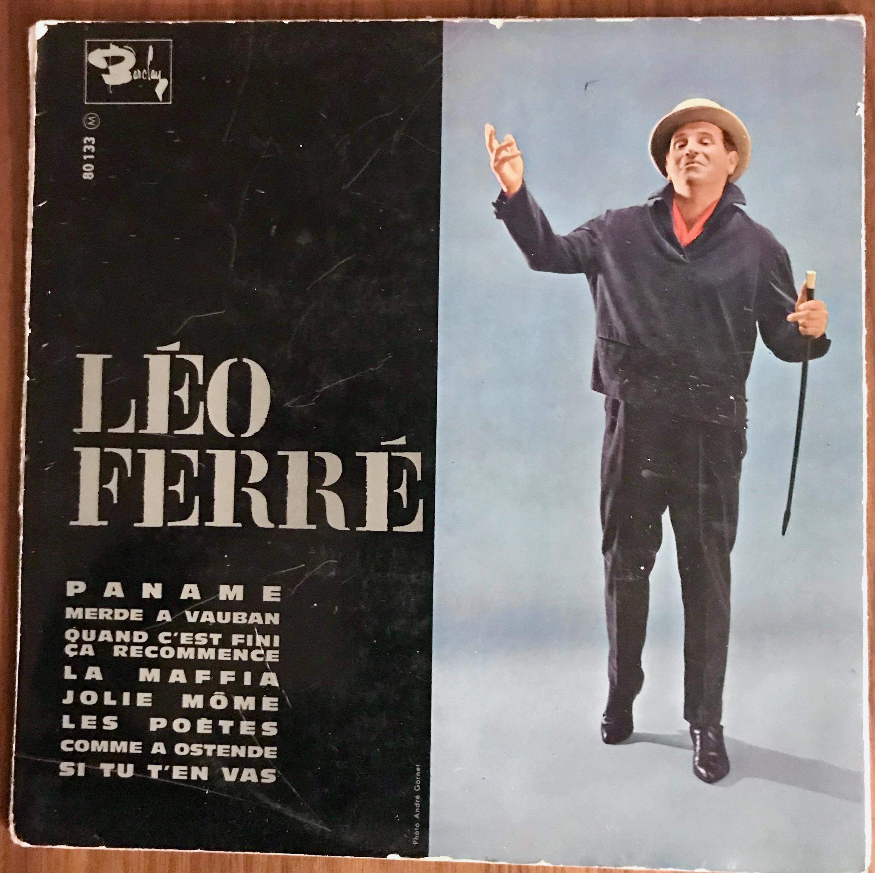Disque Léo Ferré