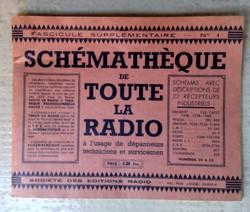 Notice fascicule radio TSF 1935