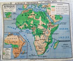 Carte scolaire Afrique