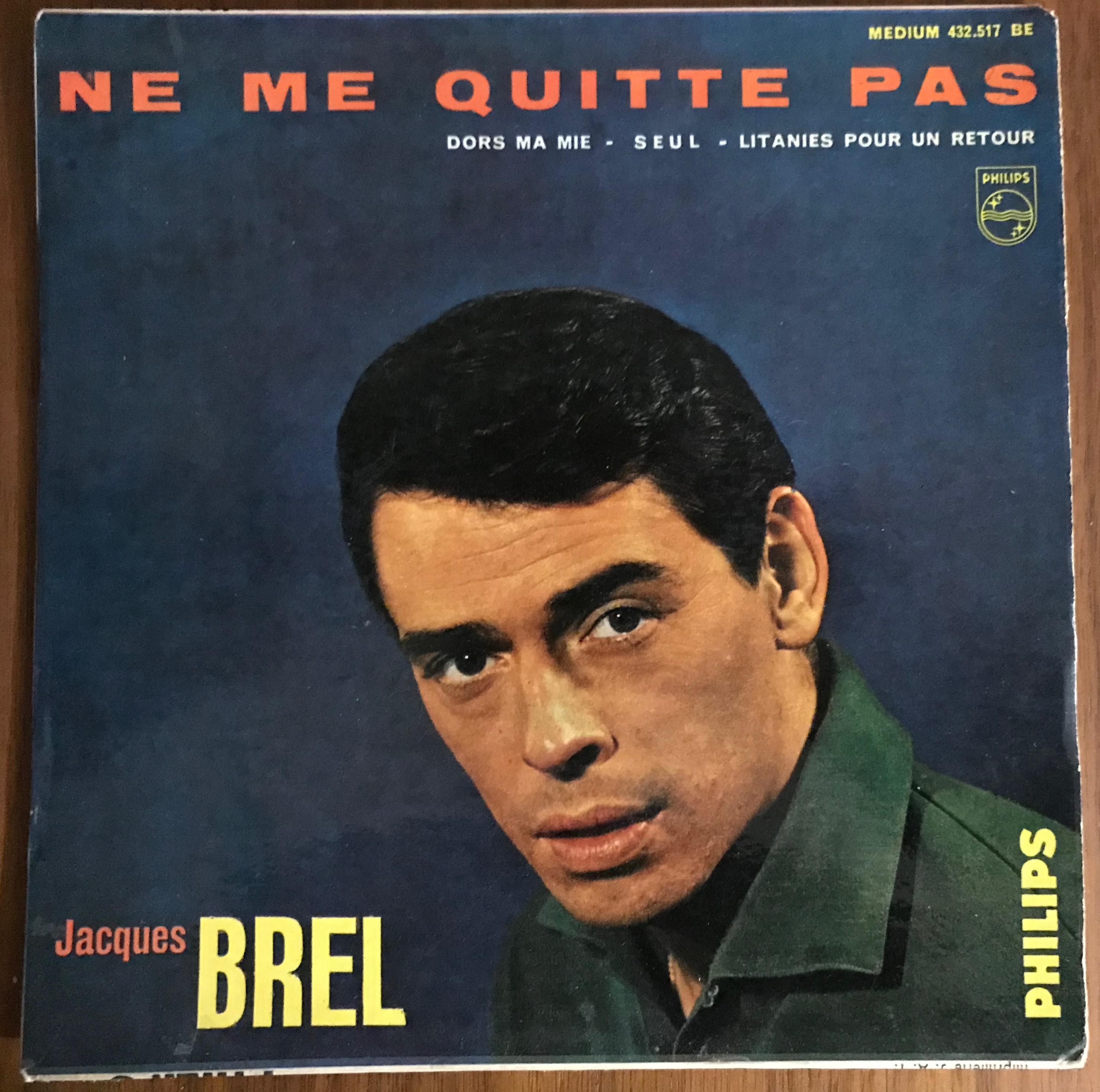 Disque Jacques Brel