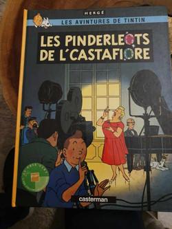 BD Tintin revisité chti