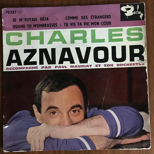 Disques vinyles Charles Aznavour