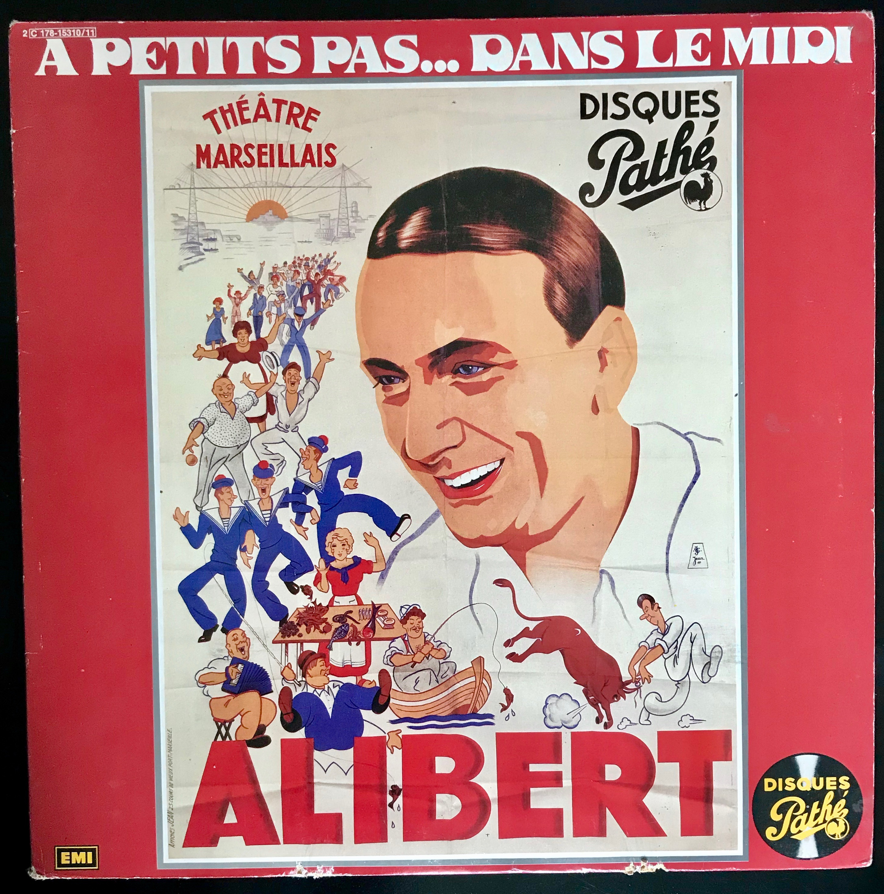 Disque vynile Alibert Alibert