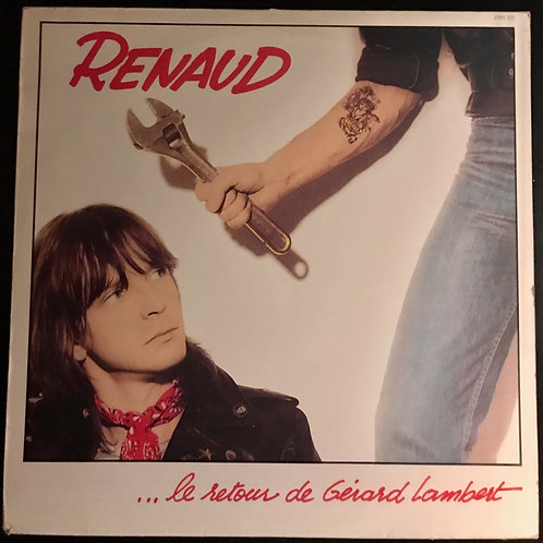 Disque vynile Renaud