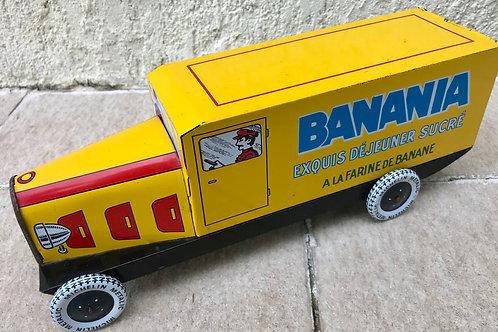Autobus publicitaire Banania
