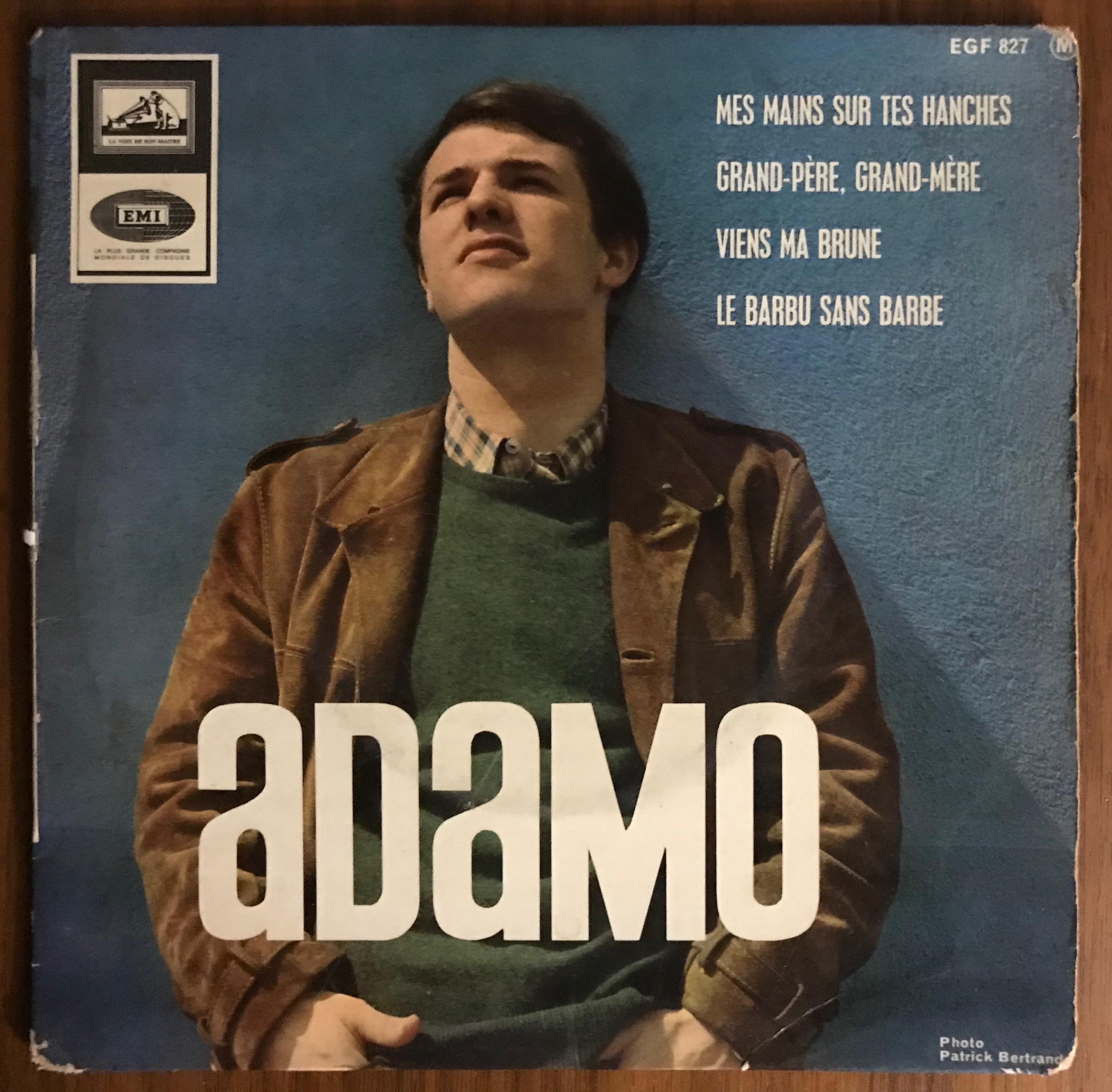 Disque vynile Adamo