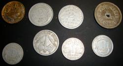 Lot de pièces Francs