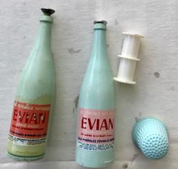 Bouteille Evian publicitaire