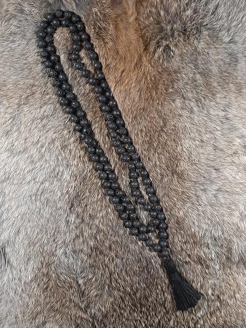 Basalt Meditation Beads