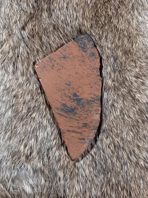 Mahogany Obsidian Slice