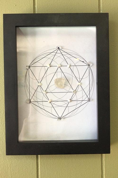 Petalite Crystal Grid