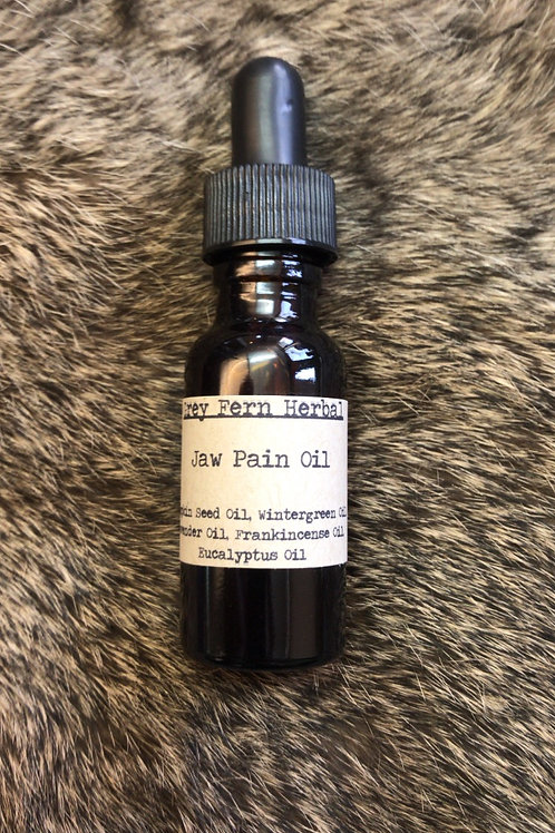 Jaw Pain Oil