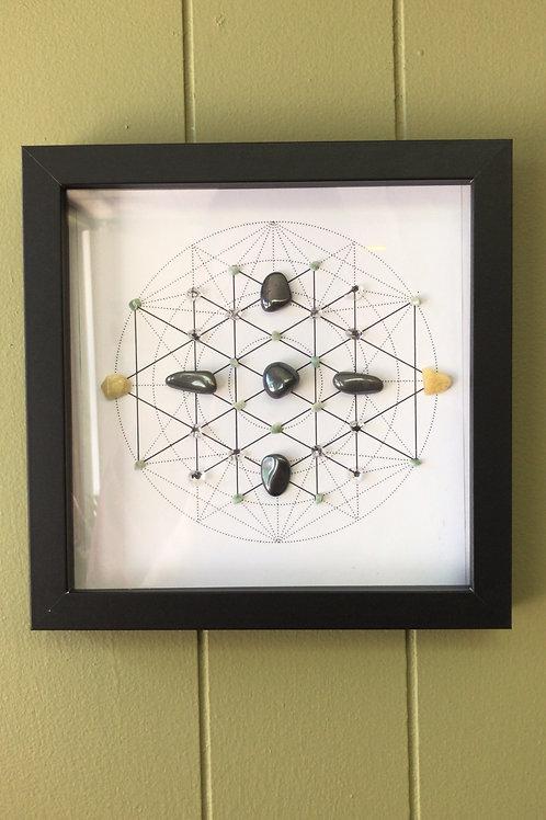Hematite Crystal Grid