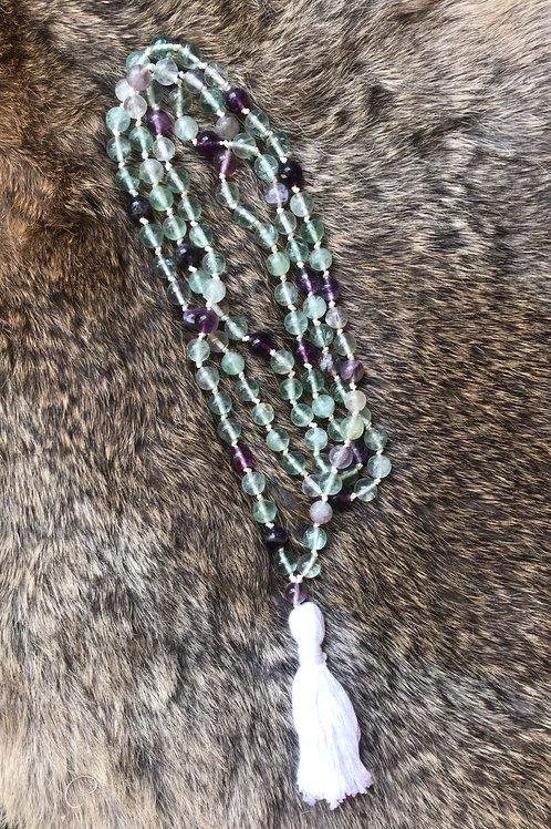 Fluorite Meditation Beads