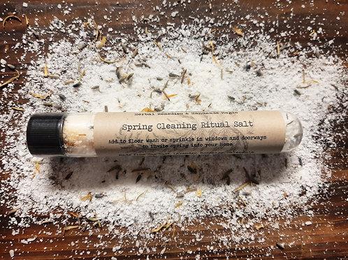 Spring Cleaning Ritual Salt