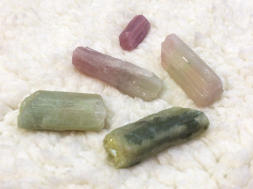 Raw Watermelon Tourmaline