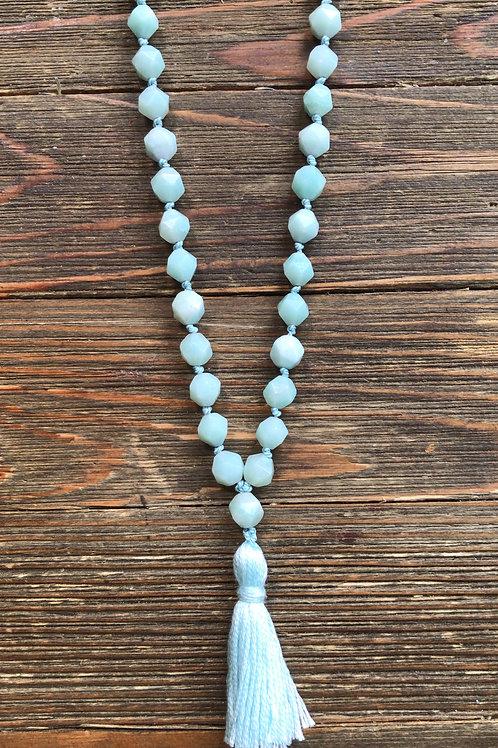 Amazonite Meditation Beads