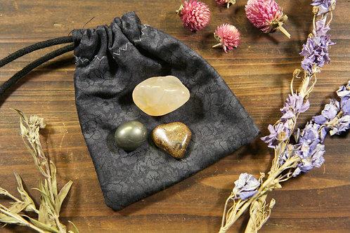 Solar Plexus Chakra Crystal Set | Trio of Solar Plexus Chakra Stones