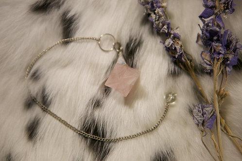 Wholesale Rose Quartz Merkaba Pendulum