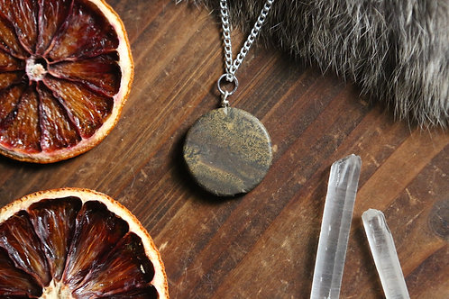 Sonora Dendritic Jasper Necklace