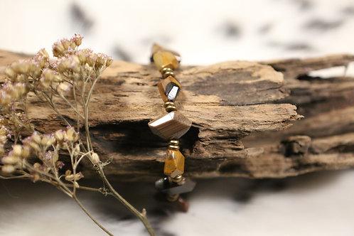 Petrified Wood Stretch Bracelet