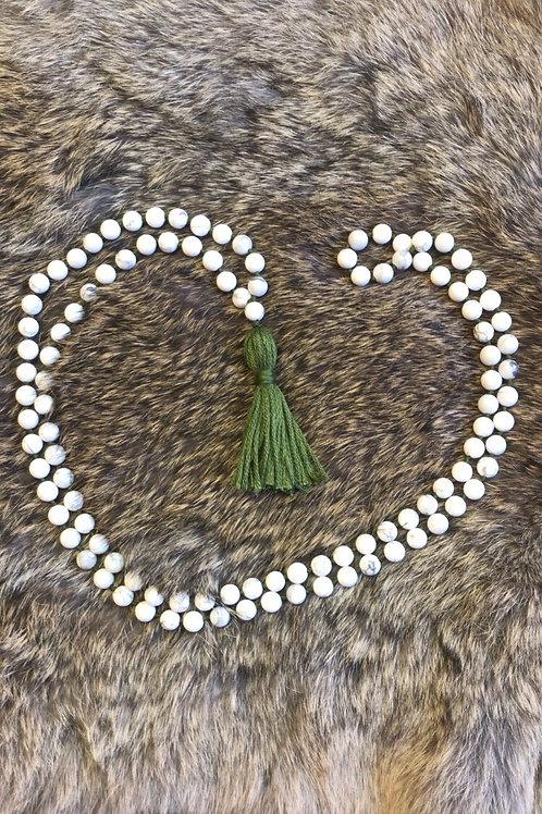 Howlite Meditation Beads