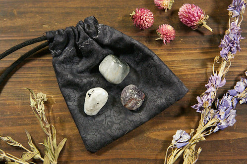 Third Eye Chakra Crystal Set | Trio of Third Eye Chakra Stones