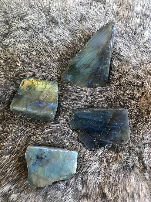 Labradorite chunk