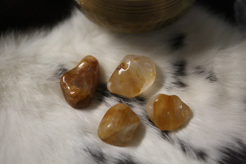 Wholesale Tumbled Golden Healer Quartz