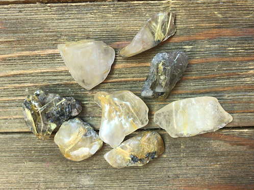 Wholesale Tumbled Rutilated Quartz