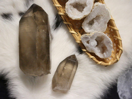 Smokey Citrine Channeling