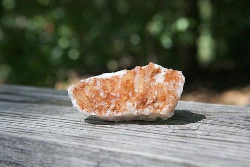 Tangerine Quartz Cluster