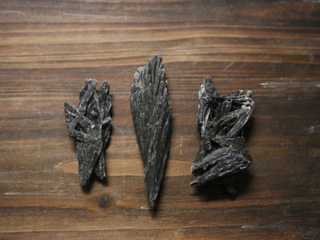 Black Kyanite Channeling