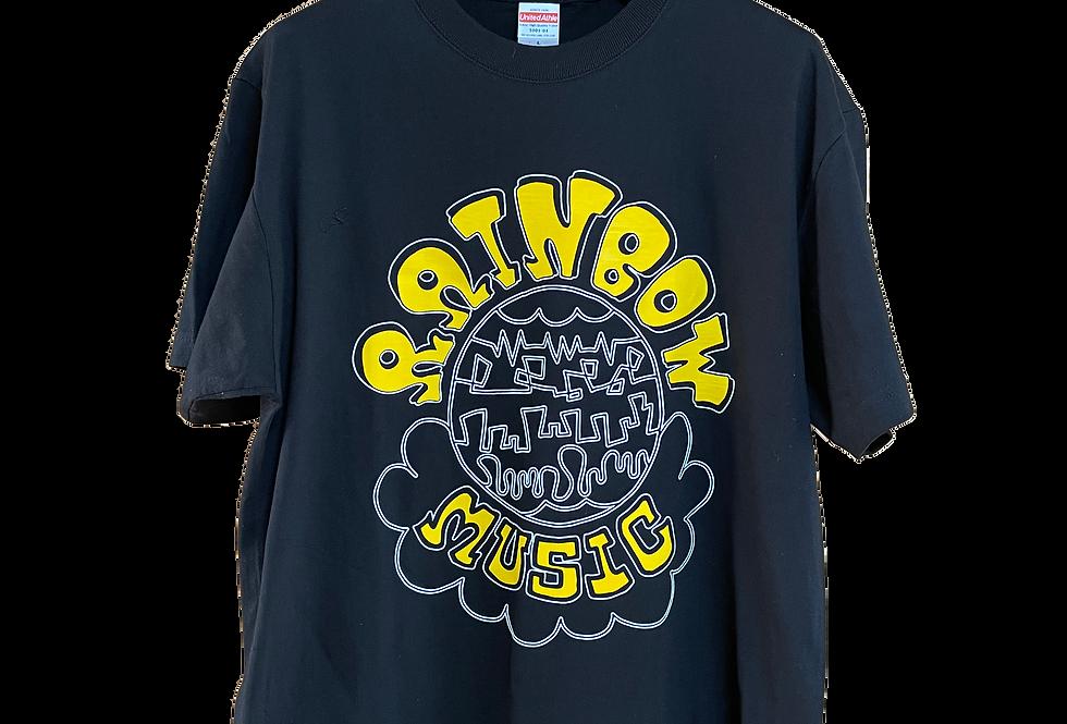RAINBOWMUSIC BIGLOGO Tシャツ