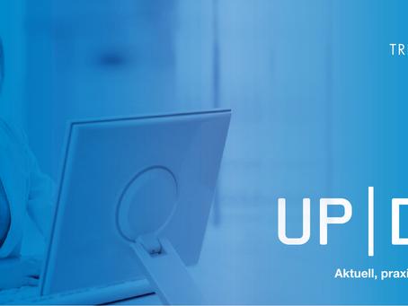 UpDate 01/2020 - QR-Rechnung, Reform Ergänzungsleistungen und Arbeitnehmerhaftung