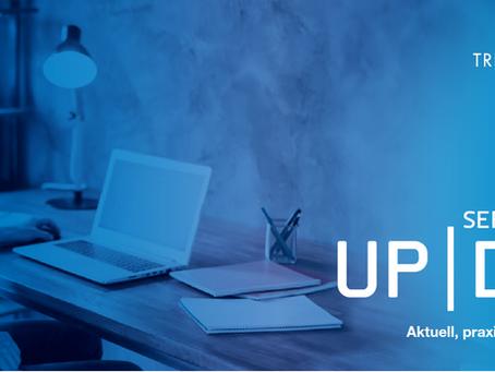 UpDate 02/2020 - COVID-19, Lohnfortzahlung und Krise als Chance