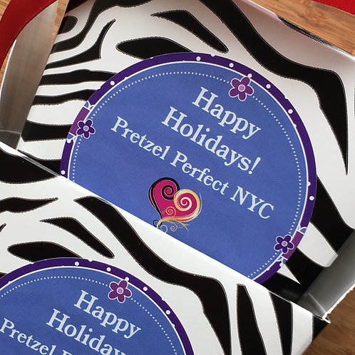 POPULAR!! - Two Holiday Zebra Boxes with the Most Festive Choices!!!