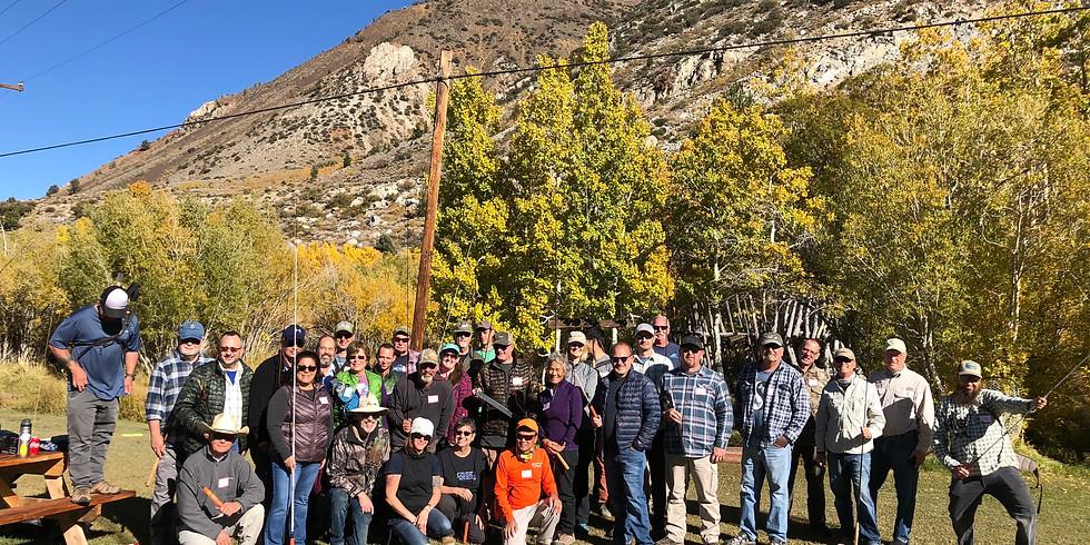 Lower Owens (Bishop, CA): Tanuki Ninja Boot Camp - on water clinic