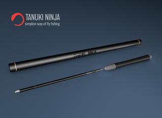 Tanuki Ninja is the first fishing rod on Yanko Design