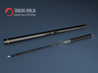 Tanuki Ninja is the first fishing rod on Yanko Design