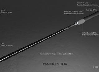 Tanuki Ninja-Tenkara Fly Fishing Rod Now on Kickstarter.