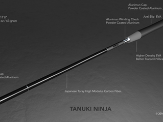 Tanuki Ninja-Tenkara Fly Fishing Rod Now on Kickstarter.